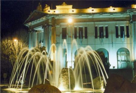 Municipalidad de Balcarce - Antiguo edificio del banco Hipotecario Nac.