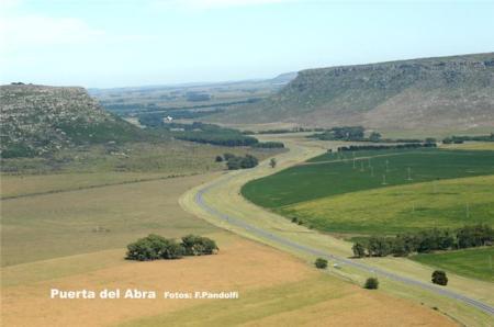 Ruta 226 Camino desde Mar del Plata hasta Balcarce.